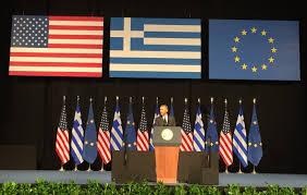 Barack Obama Flag Barack Obama Greece Needs Debt Relief Because People Need Hope