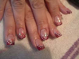valentine day hearts nail design simple nail design ideas 78347