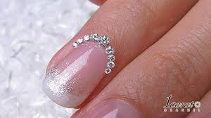 nail designs for short nails with diamonds diamond design nails