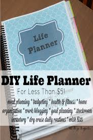Life Planning Worksheet Diy Life Planner For Less Than 5 The Busy Budgeter