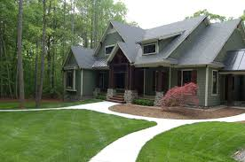 landscaping and final exteriors front yards front porches and
