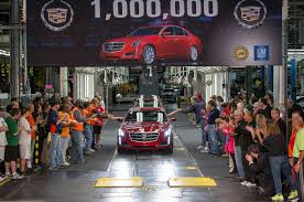 where is the cadillac cts made 2014 cadillac cts is one millionth cadillac built at lansing plant