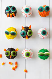 Monster Halloween Cupcakes Halloween Monster Cupcakes Camille Styles