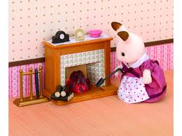 sylvanian families kitchen and living room furniture collection