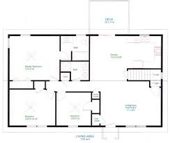Ranch Style Floor Plans With Walkout Basement 46 1950 Ranch Home Floor Plans For 1950s Ranch Home House Plans