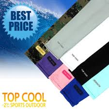Cool Arm Sleeves - qoo10 top cool arm sleeves summer cool wear sunblock arm