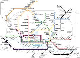 Germany Rail Map by Transit System Urban Rail Commuting Urban Density Germany