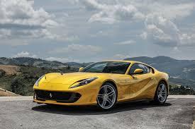 ferrari yellow 2018 ferrari 812 superfast first drive review motor trend