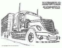 semi truck coloring pages fablesfromthefriends com