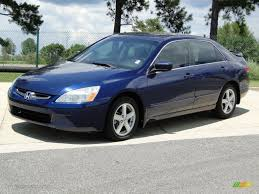 honda accord ex 2004 eternal blue pearl 2004 honda accord ex sedan exterior photo