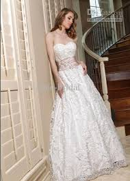 discount lace and satin sweetheart neckline wedding dresses