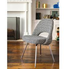 saarinen executive armless chair modern furniture palette u0026 parlor