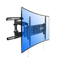 amazon 70 inch tv black friday amazon com loctek r2 both curved and flat tv wall mount bracket