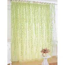 Blue Green Sheer Curtains Mesmerizing Green Sheer Curtains Adorable Blue Designs With