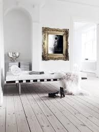 danish glam apartment with a monochromatic palette and vintage