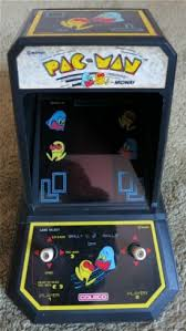 Pacman Game Table by Rare Vintage 1981 Coleco Midway Tabletop Mini Arcade Pac Man