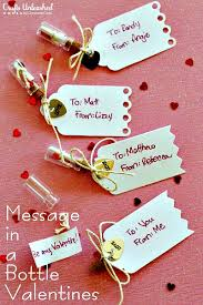 Diy Message In A Bottle Handmade Message In A Bottle Valentines Diy Home Sweet Home