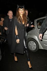 scherzinger as cat woman jonathan ross halloween party 2013