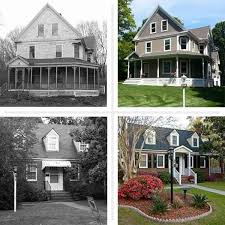 10 best before after home facades images on before