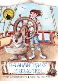 adventures of the little koala the adventures of piratess tilly elizabeth lorayne 9780692296103