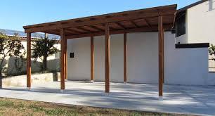 preventivo tettoia in legno foto autocover in legno tettoia di marilisa dones 365069