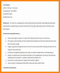 Resume For Mba Finance Fresher 100 Fresher Resume For Mba Graduate Mba Resume Professional