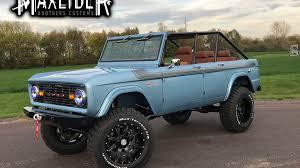 concept bronco 2017 maxlider bros bringing big bad bronco to sema autoweek