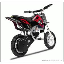 black motocross bike nitro 350w dirt bike in black red xtreme toys