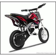 electric motocross bike uk nitro 350w dirt bike in black red xtreme toys