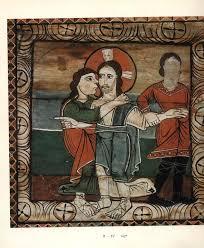 zillis romanesque art book st martin switzerland ceiling paintings symbols symbolism christ