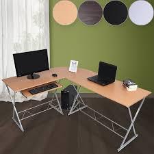 Eckschreibtisch Nussbaum Schreibtisch Winkelschreibtisch Eckschreibtisch Computertisch