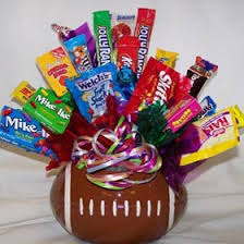 candy bouquet delivery football candy bouquet gift ideas gifts gift baskets birthday