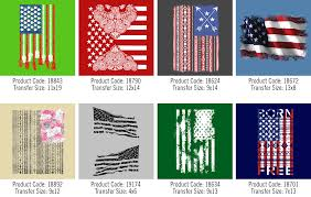 Names For The Us Flag New Stock Patriotic U0026 Usa Heat Transfers The Wild Side
