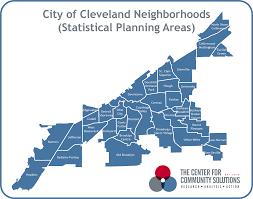 Map Cleveland Ohio by Cleveland Neighborhood Profiles