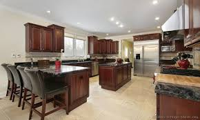 Kitchen With Island And Peninsula Kitchen Backsplash Ideas With Granite Countertops Kitchen Island