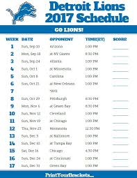 best 25 detroit lions football schedule ideas on
