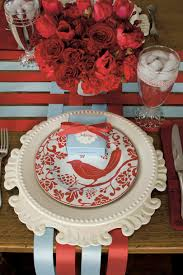 Christmas Table by Our Favorite Christmas Table Settings Southern Living