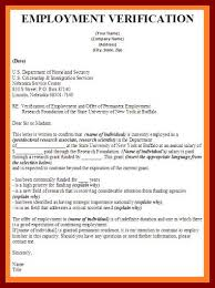 Employment Verification Letter Sle Salary 19 Letter For Confirmation Of Employment Sendletters Info