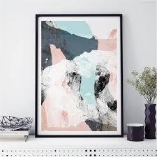 abstract art prints minimalist fine art prints scandi print