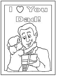 dad coloring page virtren com