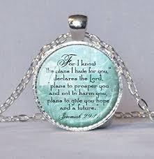 bible verse jewelry jeremiah 29 11 christian pendant scripture jewelry