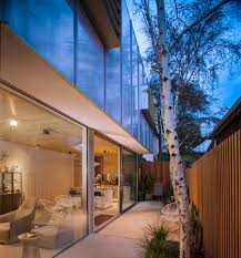Glass Box House This Homes Translucent Walls Create Beautiful Effects Inside And