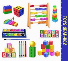 toys clip art graphics kids children clipart scrapbook wood