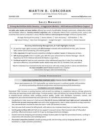Territory Sales Manager Resume Sample by Sales Manager Resume Samples Sample Resumes