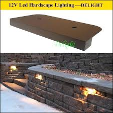 solar retaining wall lights solar retaining wall lights low voltage wall mounted lights best of
