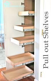 cabinet pull out shelves kitchen pantry storage kitchen organization pull out shelves in pantry