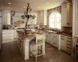 Unique Backsplash Ideas For Kitchen by Classic Kitchen Ideas With Unique Backsplash And Chandelier 9191