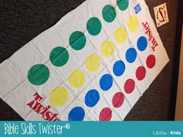 twister dot 3 game of the week bible skills twister