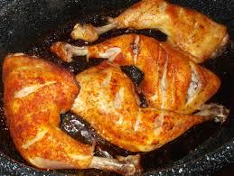 cuisiner des cuisse de poulet cuisses de poulet épicées et cuit en roaster le de ma