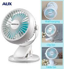 ventilateur de bureau usb aux mini ventilateur mini lit portable muet foyer d étudiants clip